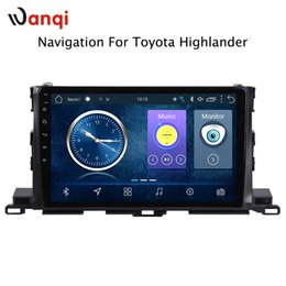 Gps For Toyota Highlander Australia - 10.1inch Android 8.1 Car GPS Navigation for Toyota highlander 2015-2018 Support Stereo Audio Radio Video Bluetooth