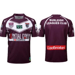 3x men 2019 - AAA+ 2018 2019 Burleigh Bears Rugby INTRUST SUPER CUP 18 19 Redcliffe Dolphins Rugby Jerseys League jersey Redcliffe Dol