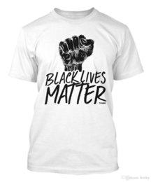 2018 Estilo Verão Camiseta Vidas Matéria T-shirt dos homens Moda Masculina Camiseta Camisa Impresso Algodão Homem o Pescoço Topo venda por atacado