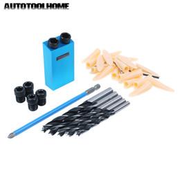 $enCountryForm.capitalKeyWord Australia - Tools Bit Multitool Drill Bit Set 6 7 8 9 10mm For Kreg Pocket Hole Jig Kit System Woodworking Drill Guide