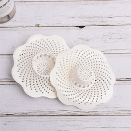 $enCountryForm.capitalKeyWord Australia - Sink Floor Cover Drain Tapon Hair Stopper Cover Filter Sink Strainer Silicone Bath Kitchen Stopper Draining Board Shower Use
