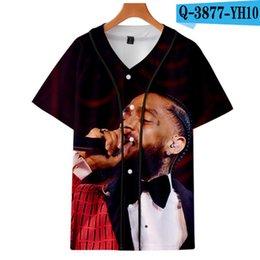 Music Man T Shirt Australia - Summer Brand Hip Hop Nipsey Hussle T Shirts 3d T-shirt Music Men T Shirt top Funny T Shirt Mens Clothes tees shirt homme