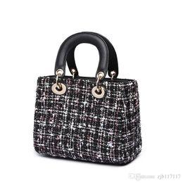 $enCountryForm.capitalKeyWord NZ - 2019 high quality pu female bag fashion plaid ladies shoulder bag casual Messenger bag handbag