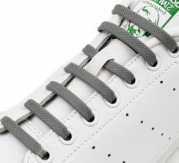 16pcs / pack Silicone No Tie Shoelaces Chaussures Accessoires lacet élastique Lacet Creative Paresseux Silicone Lacets Caoutchouc Dentelle 12 couleurs en Solde