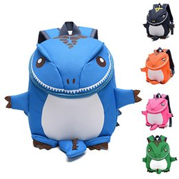 cute kindergarten backpack UK - Cartoon Character 3D Style Super Dinosaur Cute Kid bags Children Small Cute Backpack Schoolbags Kindergarten Shoulder Bags