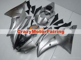 $enCountryForm.capitalKeyWord NZ - 4 Free Gifts New Injection ABS Fairing kits 100% Fit for YAMAHA YZFR6 08 09 10 11 12 13 14 15 YZF R6 2008-2015 YZF600 set cool grey silver