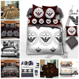modern single beds NZ - Fashionable King Size Bedding Set Queen Luxury Twin Full Single Double Duvet Cover Set Modern Decoration Bed Set with Pillowcase