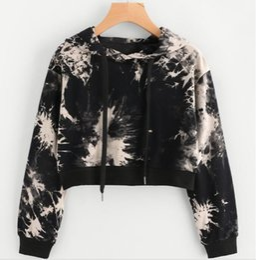 d7f498adb Cool girl sweatshirts online shopping - Chamsgend Women Hoodies Teenage  Girls Cool Printing Black Crop Top