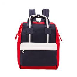 $enCountryForm.capitalKeyWord UK - Brand New Proof Canvas Bag Mens Backpack Womens Designer Bags Teenager Black White Blue Outdoor Basketball Backpack 3 Colour