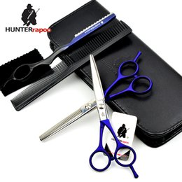 $enCountryForm.capitalKeyWord Australia - HUNTERrapoo HT9213 5.5inch professional haircut shears beauty style cutting and thinning scissors set for barber hairdresser