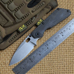 Washer titanium online shopping - DICORIA SNG folding knife D2 blade Copper washers bearing carbon fibre titanium camping hunting outdoor fruit Knives EDC tools