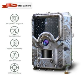 hunt cameras gsm NZ - Pr-200 Trail Hunting Camera Game Outdoor Night Vision Photo Traps Gsm Wild Thermal Scouting Mms Sms Subject Free Shipping T190705