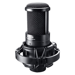 used microphones Australia - New Takstar PC-K220 capacitor Side-address Recording Microphone computer mics use for Webcast network recording