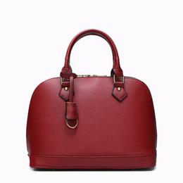 $enCountryForm.capitalKeyWord NZ - Decent2019 Pattern New Genuine Leather Woman Shell European Fashion Handbag Cowhide Single Shoulder Trend Oblique Satchel Package