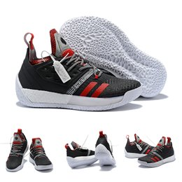 31ce1d59059a High Quality James Harden Vol.2 Lift Off Black Scarlet Grey Basketball  Shoes For Men Fashion Sports Training Boost Size US7-11.5