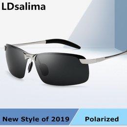 Magnesium Coating Australia - LDsalima Aluminum Magnesium Men's Sunglasses Polarized Coating Mirror Sun Glasses oculos Male Eyewear Accessories For Men 3043