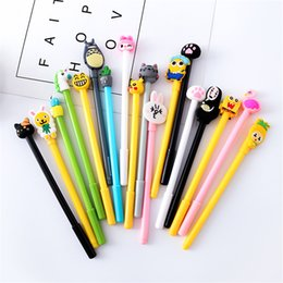 japanese pens Australia - 1pcs Creative Cute Cartoon Bear Animal Cat Japanese Gel Pen Ink Marker Pen School Office Supply Gift Pens for School Adorable