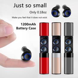 Toptan satış Sıcak satış Kablosuz Su Geçirmez Bluetooth Kulaklık S2 Mini TWS Manyetik Şarj Iphone X 8 7 Artı Android Samsung Sony Araba Kulaklık
