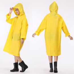 Raincoat Rain Hat Australia - Long Raincoat EVA Thicken Rainwear Universal  Poncho Large Waterproof Hiking Hat f82e92f7ef0a
