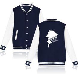 $enCountryForm.capitalKeyWord UK - Sherklock Baseball Sweatshirts Men Women Buttons Hoodies And Sher Locked Holmes Hoodies Brand-clothing Sweatshirt Oversized