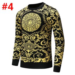 $enCountryForm.capitalKeyWord Australia - 18MODEL Men's Brand Fashion Letter Embroidery Knitwear Winter Men's Clothing Crew Neck Long Sleeve Sweater for Men Designer Hoodies New Arri