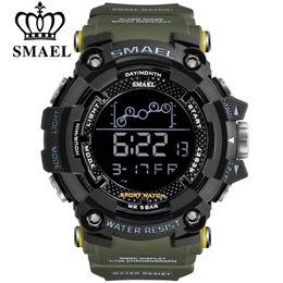 $enCountryForm.capitalKeyWord Australia - SMAEL New Fashion LED Digital Outdoor Sports Watch Men Multifunction Waterproof 30M Brand Military Mens Wristwatch