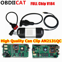 Can Clip diagnostiC interfaCe online shopping - OBDIICAT DHL High Quality PCB Board Latest Version V184 AN2131QC Can Clip Professional Diagnostic Interface with Multi language