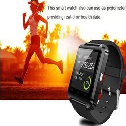 Smart Watch Altimeter Android Australia - Smart Watch U8 Bluetooth Altimeter Anti-lost 1.5 inch Wrist Watch U Watch For Smartphones iPhone Android Samsung HTC Sony Cell Phones