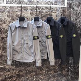 19ss New Arrival Paris Stone Lovers Maglietta di cotone Camicetta a maniche lunghe T-shirt estiva Maglietta traspirante Streetwear T-shirt da esterno