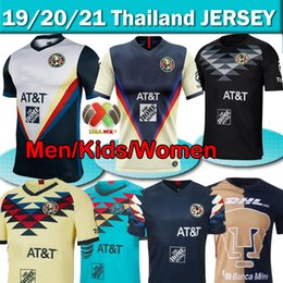uniforms soccer america NZ - 2020 2021 LIGA MX Club America Soccer Jerseys UNAM Guadalajara de Chivas 2019 20 soccer kits mexico Football shirts soccer jerseys uniforms