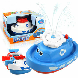 spin toys Canada - Children's Electric Sprinkler Bath Toy Baby Shower Spin Sprinkler Set Surprise Gifts for Boys and Girls