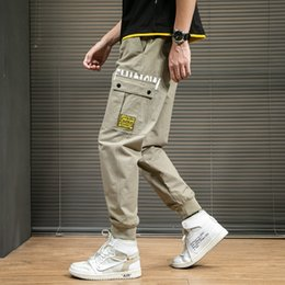 Lightweight cargo pants men online shopping - Septhydrogen Brand Fashion Hip Hip Streetwear Mens Joggers Pants Thin Overalls Men Spring and Summer Ins Style Casual Loose Harlan Pant