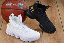 ed67b4e0e816 New What the Lebron XV 15 EP KS2A Orange Legend BHM Equality Basketball Shoes  Black Gold Mens Comfortable 15s Sport Sneakers Size 40-46