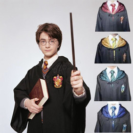 $enCountryForm.capitalKeyWord Australia - Harry Potter Robe Cloak Cape Cosplay Costume Kids Adult Harry Potter Robe Cloak Gryffindor Slytherin Ravenclaw Robe cloak LJJA2789