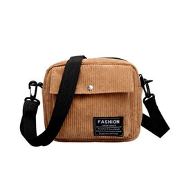 canvas flap bag japan Australia - Japan and Korean Style Canvas Bags For Women High Quality Corduroy Crossbody Bags For Women Shoulder Messenger Bag Small #H10