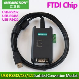 Rs232 Usb Module Australia - Industrial Grade USB-RS485 USB-RS422 USB-RS232 FTDI Chip Isolated Conversion Module USB TO RS232 422 485 Magnetic Isolation