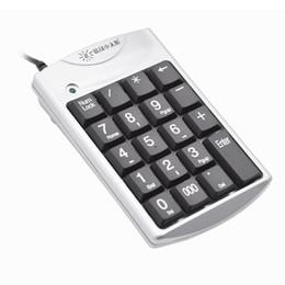 $enCountryForm.capitalKeyWord Australia - SUNROSE K29B USB Wired Numeric Keypad Splashproof 19 Keys Mini Numpad Keyboard for Office Laptop New