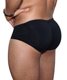 e2ef541a3dc S-6xl Plus Size Men Butt Lifter Padded Underwear Enhancing Boxer Brief  Trucks Control Slimming Panties Man Shaper Waist Trainer