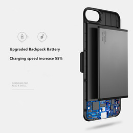 $enCountryForm.capitalKeyWord Australia - Mobile Shell + Backpack Charger External Battery Case Power Charger Charging Cover Case Audio for iPhone 6 6S 7 8 Plus Charging Backpack