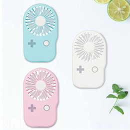 Console Cooling fan online shopping - Mini Portable Handheld USB Rechargeable Fan Unique Game Console Shape Summer Air Conditioner Cooling Fan