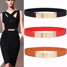 $enCountryForm.capitalKeyWord Australia - Free Shipping Newest Hot Sale waistbands for Women thin Red Elastic Cummerbunds Stretch Belt For Ladies Female Dress Accessories