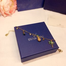 $enCountryForm.capitalKeyWord Australia - 2019 the latest lady lively, charming and charming palm tree watermelon pineapple coconut tree tropical style bracelet Link, Chain