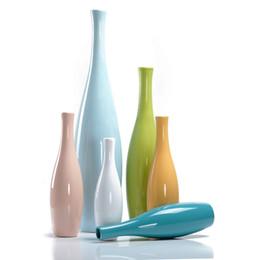 $enCountryForm.capitalKeyWord Australia - 6 Color Optional, Ceramic Vases, Ball Vase, Flower Pot, Creative Flowerpot, Office Porcelain Vase Home Decor