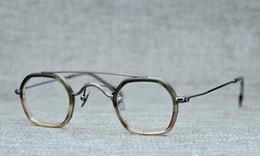 TiTanium prescripTion glasses online shopping - Belight Optical Men Vintage Small Mini Retro Design Glass Prescription Eyeglasses Optical Spectacle Frame Eyewear RE CUT ON