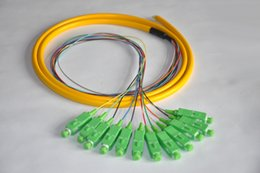 $enCountryForm.capitalKeyWord Australia - 10pcs 1.5M Singlemode ,G652D,9 125,50cm from Cable to Connector,0.9mm, 1.5M SC Pigtail Fiber Optic Pigtail