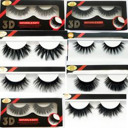 Silk False Eyelashes Australia - 15 style 3D Silk protein False EyeLashes Handmade False lashes Natural Long Fake Lashes Curl Soft Fibroin Perfect packaging