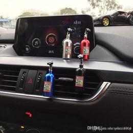 Carro Sólido Perfume Esponjas Refill Air Freshener saída NOS Perfume Clipe Auto Aromaterapia Dispel Peculiar cheiro cilindro de nitrogênio em Promoção