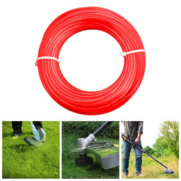 garden tools Canada - 2.4mm 15m Nylon Trimmer Line Lawn Mower Rope Garden Tools Parts