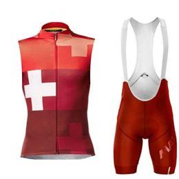 SleeveleSS cycle jerSeyS online shopping - 2019 Mavic Summer Pro Team Men Cycling Jersey Sleeveless Vest Set Maillot Bib Shorts Bicycle Clothes Quick Dry Shirt Clothing Suit