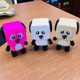 $enCountryForm.capitalKeyWord Australia - New design Dancing Dog Bluetooth Speaker Portable Wireless Stereo Music Player Loudspeaker For iphone X 8plus 7plus Samsung With Retail Box
